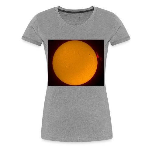 Sonne in H-Alpha - Frauen Premium T-Shirt