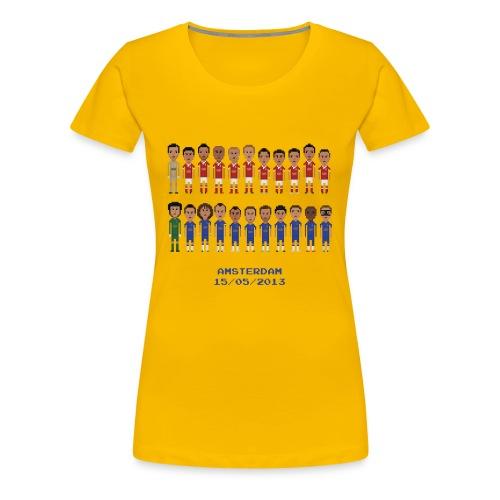 Amsterdam Final 2013 - Women's Premium T-Shirt
