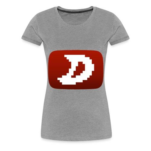Darien Logo Design - Women's Premium T-Shirt