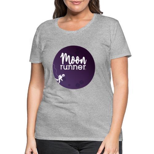 To the moon - Moon Runner + Astronaut solo - T-shirt Premium Femme