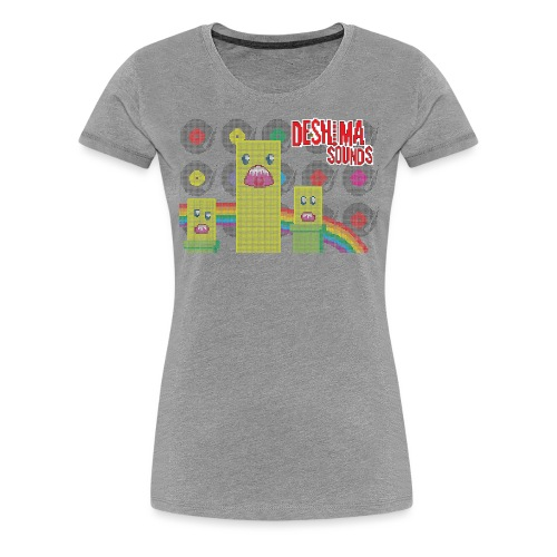 Deshima Sounds 07 2011 - Vrouwen Premium T-shirt