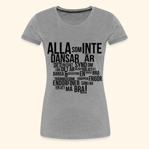 AllaSomINTE - Premium-T-shirt dam