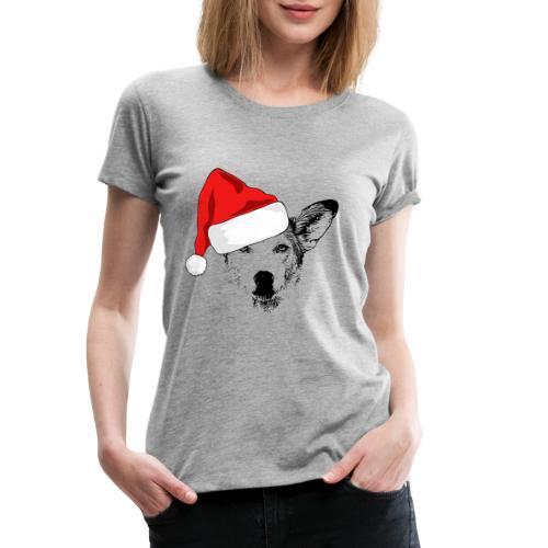 Weihnachten Podenco-Mix Hund Geschenk Podimix - Frauen Premium T-Shirt