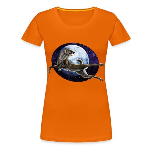 Galaxy Wolf - Frauen Premium T-Shirt