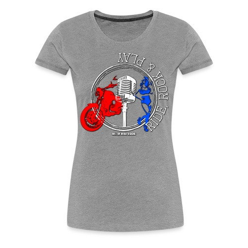 Ride Rock Play - Women's Premium T-Shirt