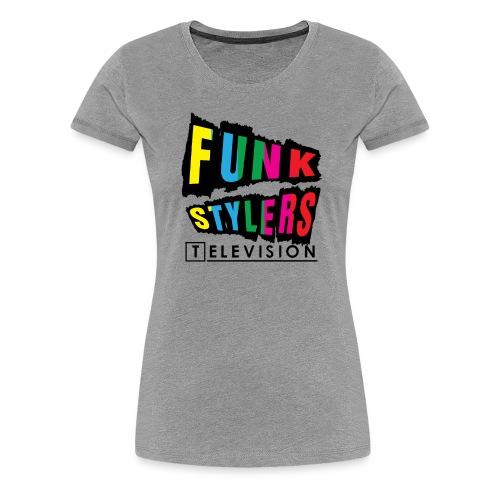 Borderless Colour - Women's Premium T-Shirt