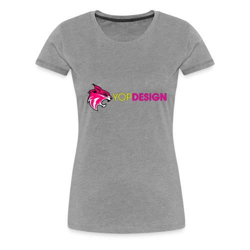 YopDesign-Ytub - T-shirt Premium Femme