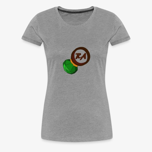 emerald on a ring png png - Women's Premium T-Shirt