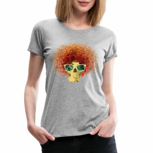 Freaky Skull Vintage - Vrouwen Premium T-shirt