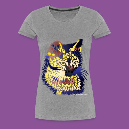 Katze 9 - Frauen Premium T-Shirt