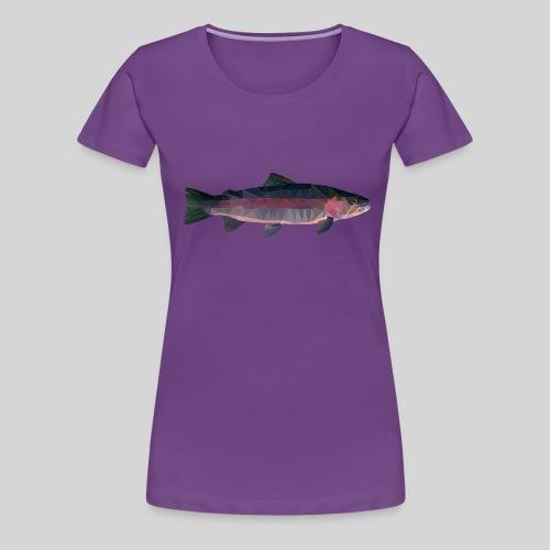 Trout - Naisten premium t-paita