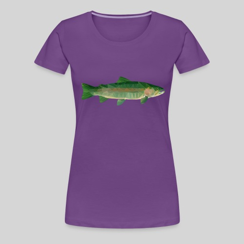 Mystical Trout - Naisten premium t-paita