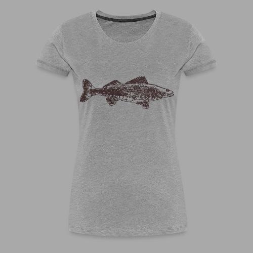 Zander - Naisten premium t-paita