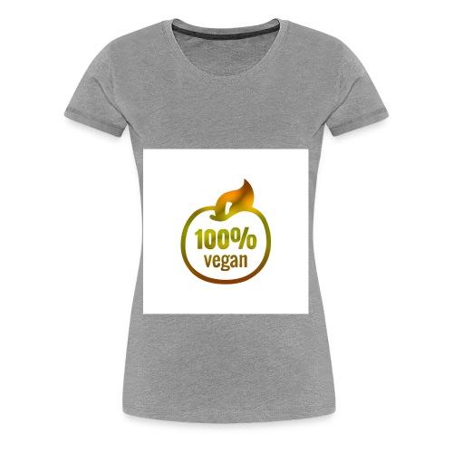 100% vegan - T-shirt Premium Femme