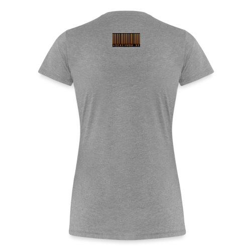 Hockeymom - Premium-T-shirt dam