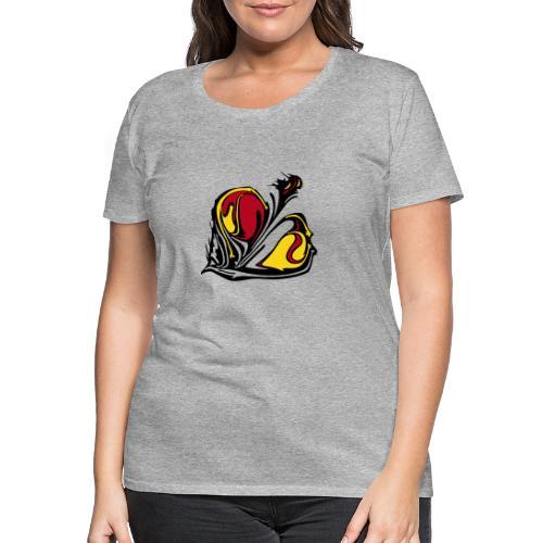TIAN GREEN - KONU - Frauen Premium T-Shirt