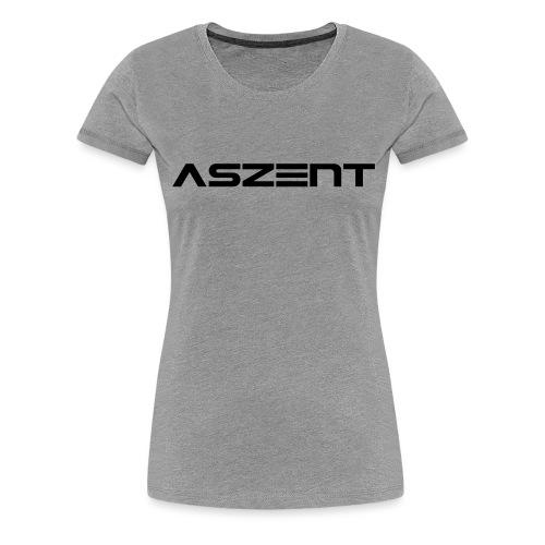 Aszent one-line - Frauen Premium T-Shirt