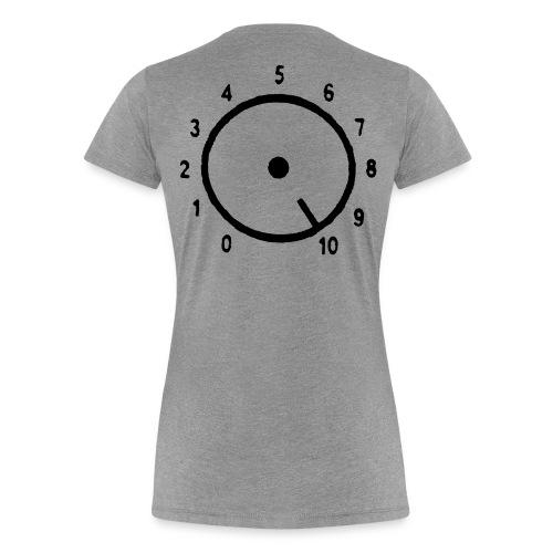 Volym - Premium-T-shirt dam