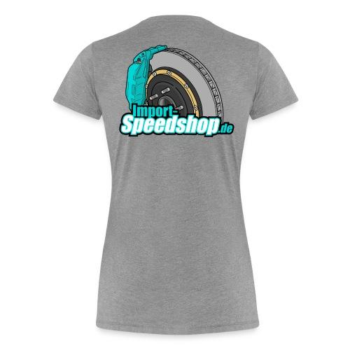 BigBrake Back - Frauen Premium T-Shirt