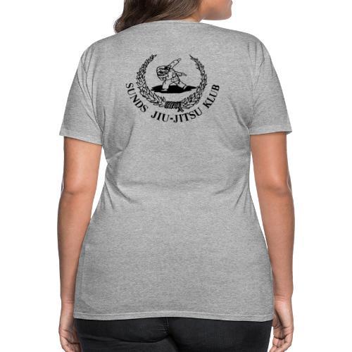 logo bagpå - Dame premium T-shirt