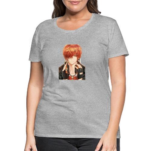 Hier Mein Face - Frauen Premium T-Shirt