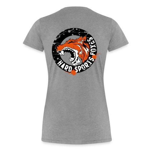 Hard Sports Foxes - Frauen Premium T-Shirt