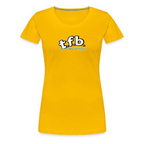 logo faerbig hinten png - Frauen Premium T-Shirt