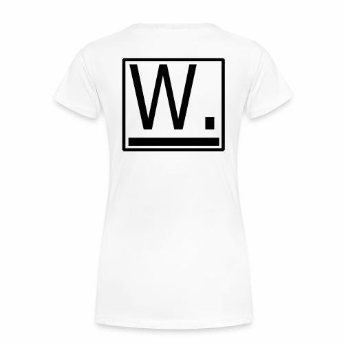 W. - Vrouwen Premium T-shirt