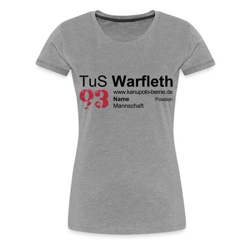 Fanshirt Front - Frauen Premium T-Shirt