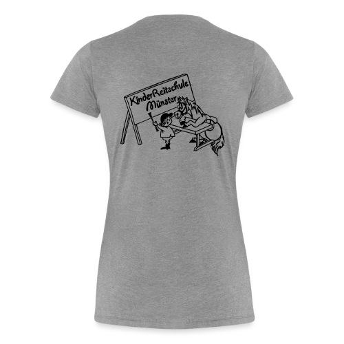 LogoSchwarz png - Frauen Premium T-Shirt