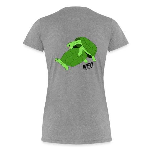 Turtle Hutsul - T-shirt Premium Femme