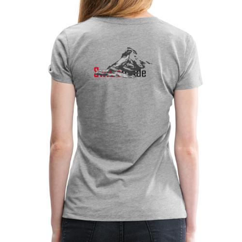 Swiss made logo - Frauen Premium T-Shirt