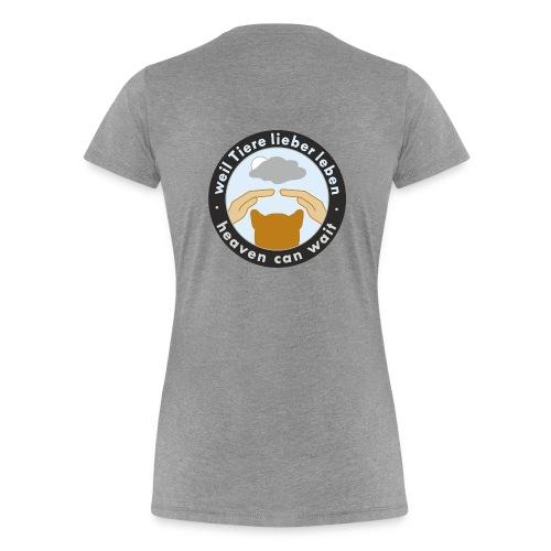150411-kreis-schwarz - Frauen Premium T-Shirt