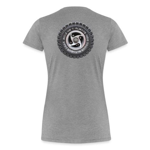 toughwheels - Vrouwen Premium T-shirt