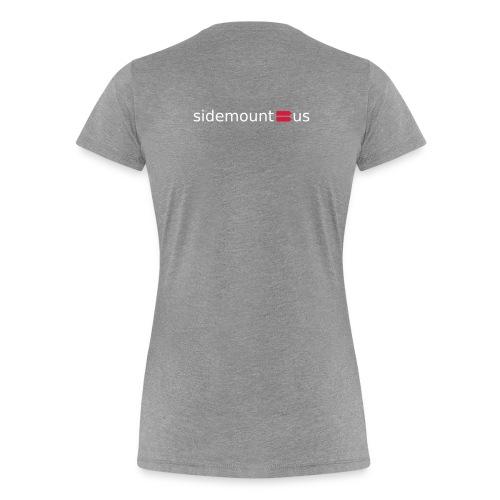 Sidemount us logo - Premium T-skjorte for kvinner