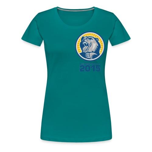 bbl tshirt fram png - Premium-T-shirt dam