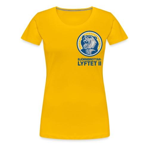 bbl brost png - Premium-T-shirt dam