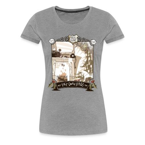 GRYM T-Shirt Light - Women's Premium T-Shirt