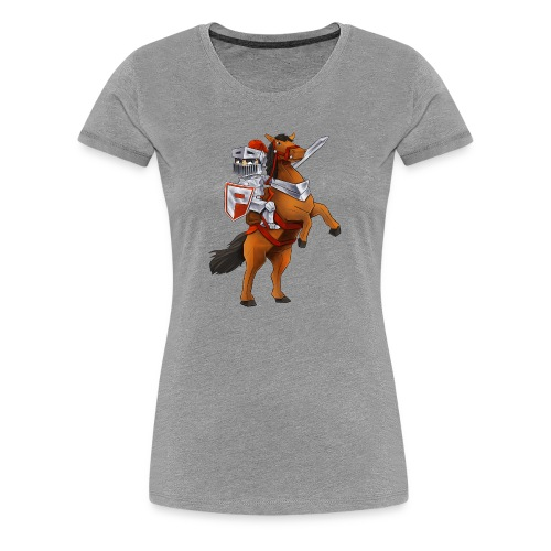 PlayMinity Horse&Man - Women's Premium T-Shirt