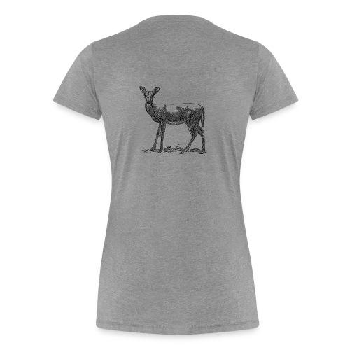 reh png - Frauen Premium T-Shirt