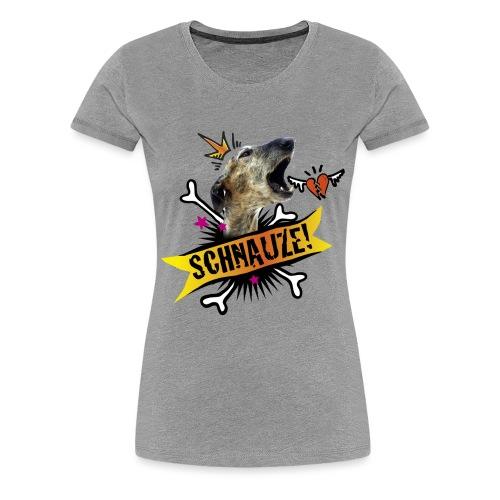 Schnauze - Frauen Premium T-Shirt