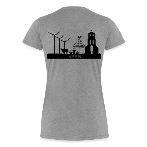VEEN skyline black - Frauen Premium T-Shirt