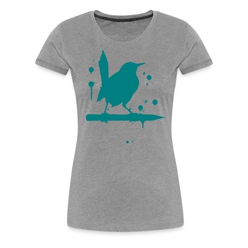 giantLeap vogel druck - Frauen Premium T-Shirt
