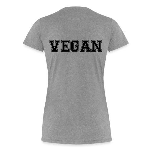 Vegan sports - Naisten premium t-paita