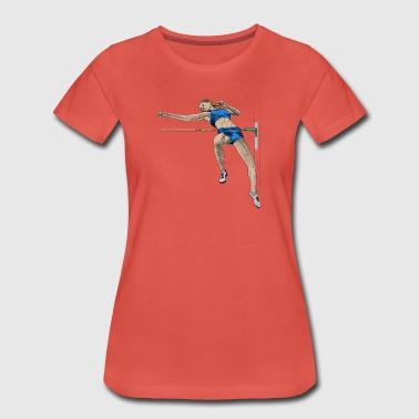 high jump - Premium T-skjorte for kvinner