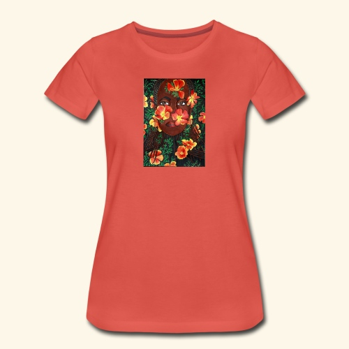 California poppy - Naisten premium t-paita