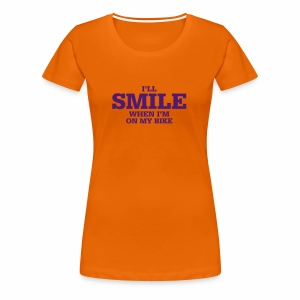 i will smile - Frauen Premium T-Shirt