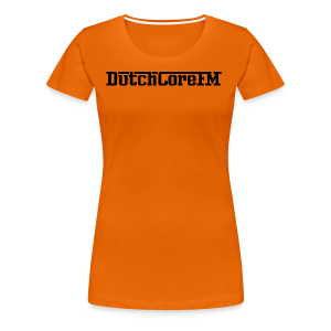 DutchCoreFM Logo Black - Women's Premium T-Shirt