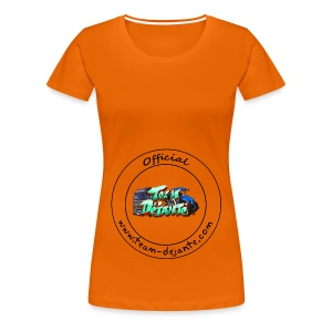 Officiel TD Logo - T-shirt Premium Femme