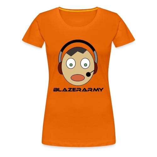 Blazerarmy Merch - Frauen Premium T-Shirt